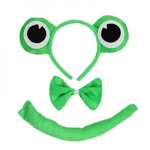 Frog dress up kit