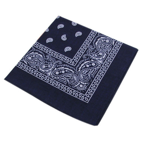 Navy blue bandana