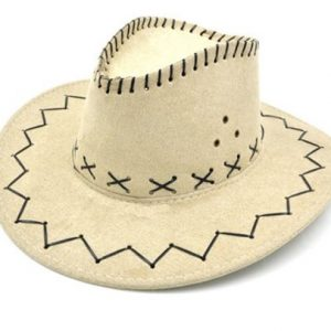 Cowboy hat light beige