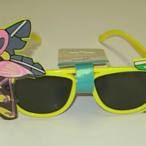 Hawaiian party glasses