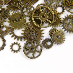 Steampunk watch gears