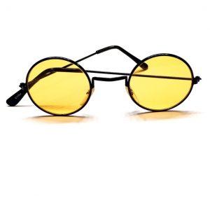 Yellow hippie glasses