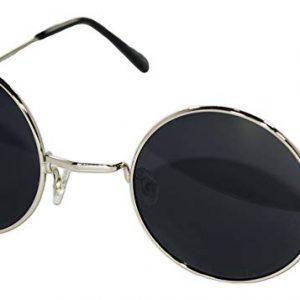 Black hippie glasses