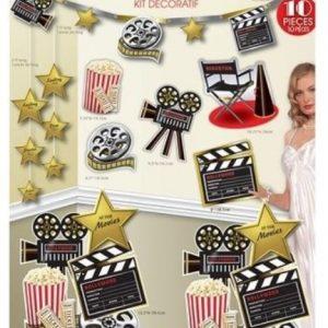 At the Movies decorating kit