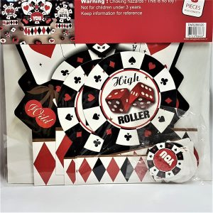 Casino decoration kit