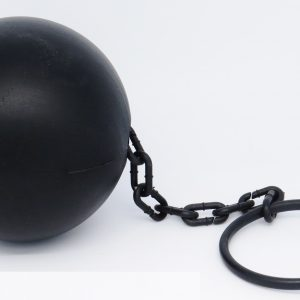 Plastic ball & chain