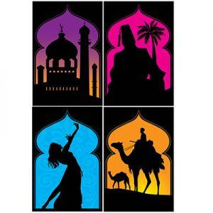 Arabian themed decoration