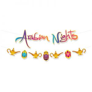 Arabian nights themed decorations
