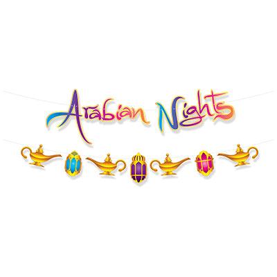 Arabian nights themed decorations