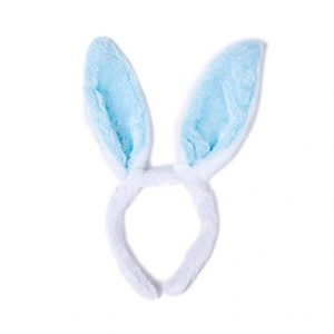 Fluffy bunny ear headband