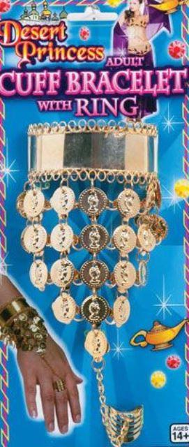 Desert princess bracelet & ring