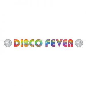 Disco fever banner