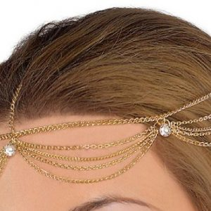 Goddess hair jewelry