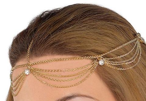 Goddess hair jewelry