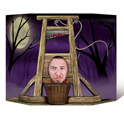 Guillotine - executioner Photo prop