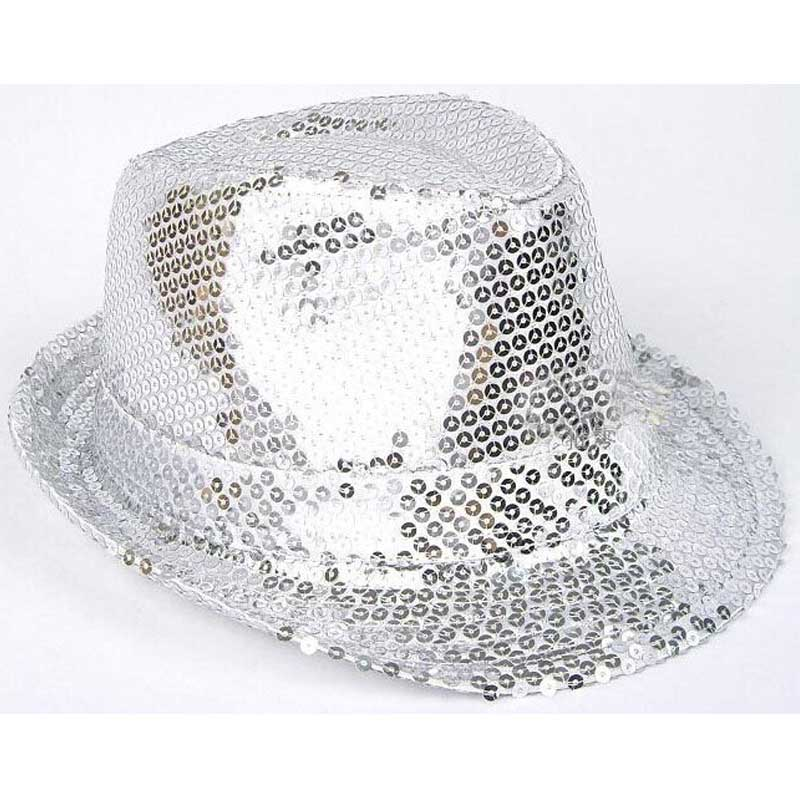 Silver sequin hat – Code  198 – Scalliwags Costume Hire 766f3903dce