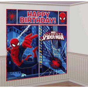 Spiderman backdrop scene setter
