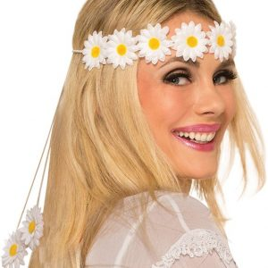 Daisy hippie headband