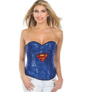 Supergirl costume corset