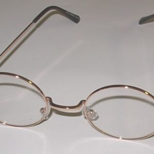Costume glasses with clear lenses