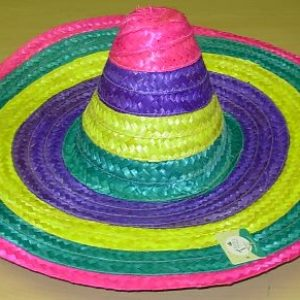 Colourful Mexican sombrero