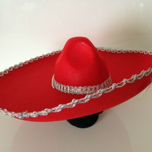 Red Mexican hat