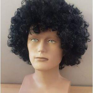 Black men's afro wig