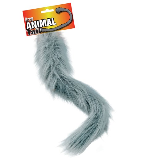 Animal tail - grey
