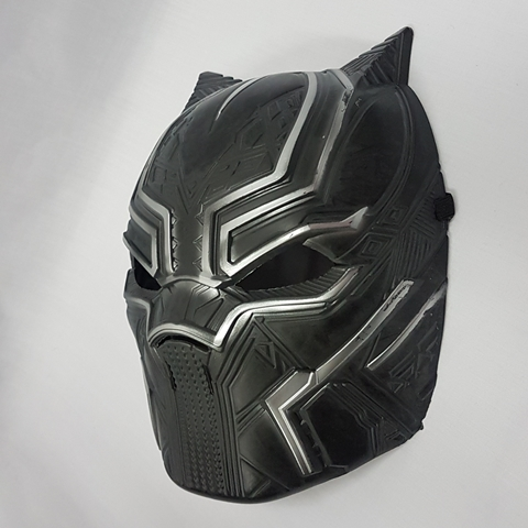 Black panther mask side