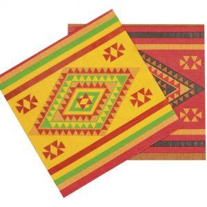 Fiesta napkins