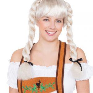 Fraulein pigtail wig