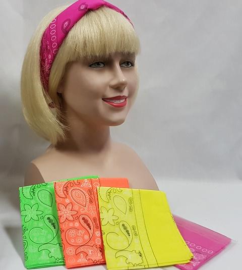 Neon bandanas