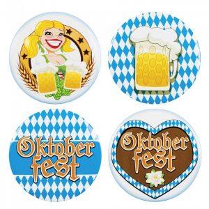 Oktoberfest buttons