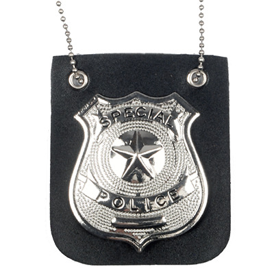Special-Police-Badge-Chain-Necklace-Pendant-Neck-Detective