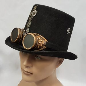 Steampunk hat & goggles