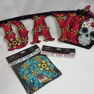 Day of the Dead letter banner