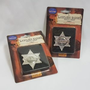 Lawman sheriff badge