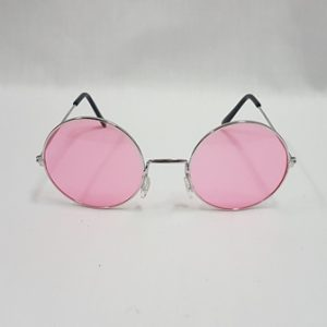 Pink hippie glasses