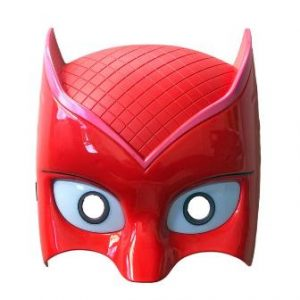 Red PJ superhero mask