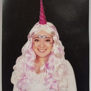 Wig - pastel shades wavy