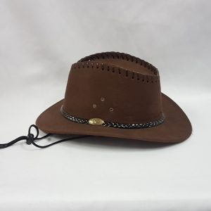 Brown cowboy hat - child
