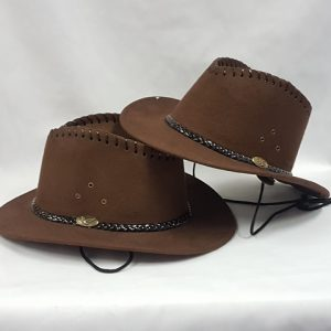 Child cowboy hat - brown