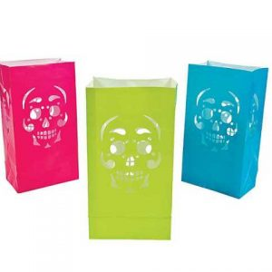 Day of the Dead luminary bags