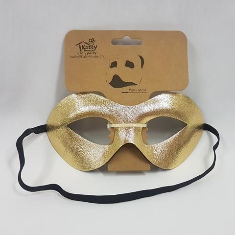 Gold eye mask