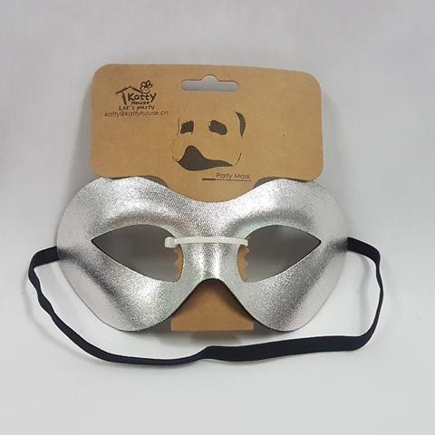 Silver eye mask