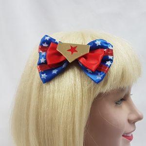 Superhero hair clip