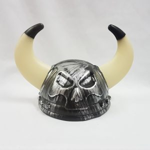 Viking helmet - skull design