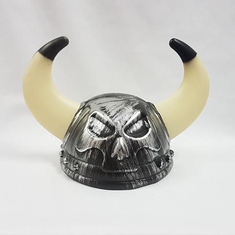 Viking helmet - skull design