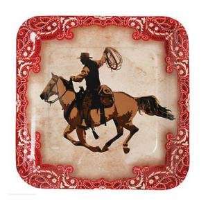 Western dinner plate