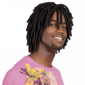 Dreadlock wig short